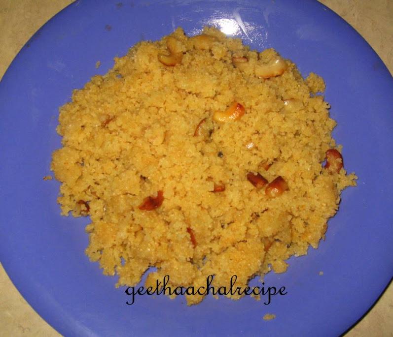 Godhumai Rava Pongal