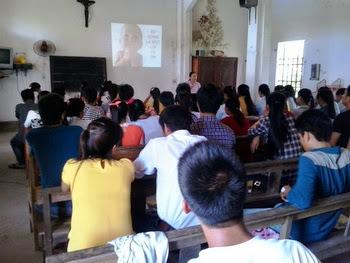 Truyền thông Bảo vệ sự sống tại giáo xứ Kim Trung