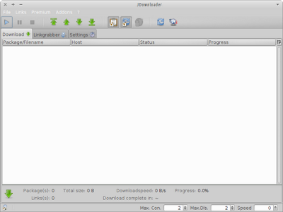 Native look-and-feel for JDownloader in Xubuntu