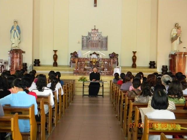 Đại diện các Bà Mẹ Công Giáo các giáo hạt họp đầu năm Ất Mùi tại giáo xứ Bình cang