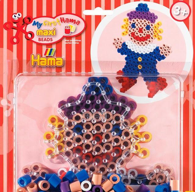 Bộ đồ chơi xếp hình Hama Maxi Clown Starter Kit