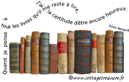 Le blog des livres : Cottage Treasure