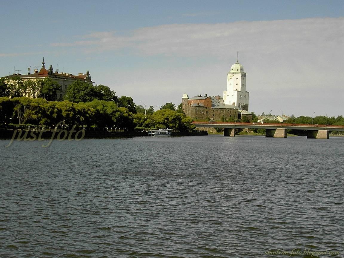 Выборг Выборгский замок пейзажи фото