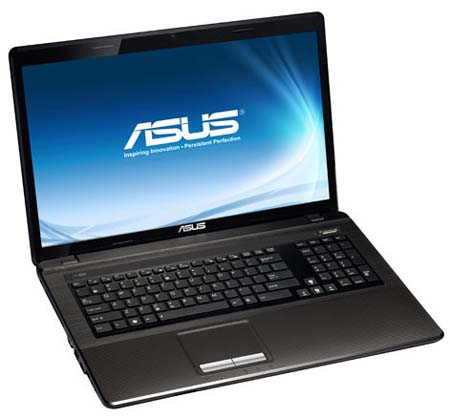 Asus K93SV front left e1312664353669 Asus K93SV Review and Specs, Asus 18.4 inches Laptop Screen