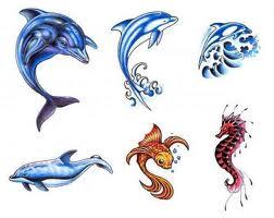 Galeria Tatuazy Tatuaże Delfiny I Delfinki