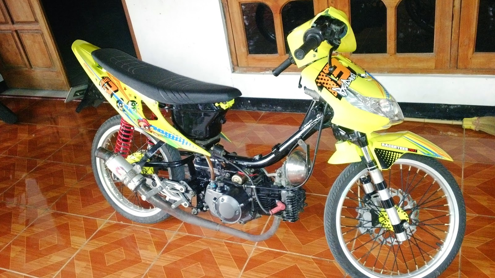 Revo Fit Modifikasi Drag Modifikasi Drag Revo 110
