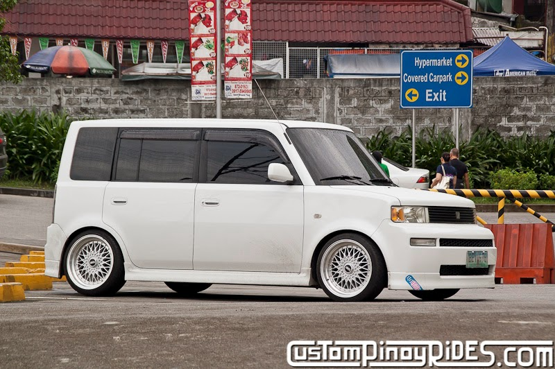 Custom Pinoy Rides Car Photography Manila Philippines Toyota bB in BBS pic1