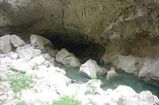 Le Verdon vu depuis le sentier de l'Imbut