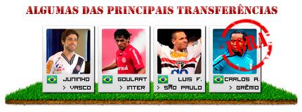 Tranferências Brasileirão 2011 - Brasfoot 2011