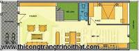 Tư vấn thiết kế nhà phố 6x17m của anh Hoan - THI CÔNG TRANG TRÍ NỘI THẤT