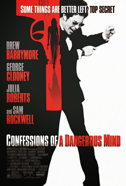Poster Of Confessions of a Dangerous Mind (2002) Full Movie Hindi Dubbed Free Download Watch Online At Alldownloads4u.Com