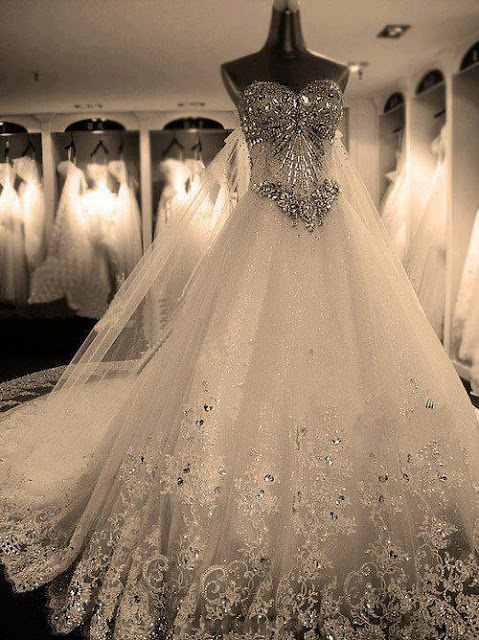 What I Would Want to Experience Before Doomsday Happen - Beautiful Crystal Wedding Dress - To Wed the Man of my Dreams