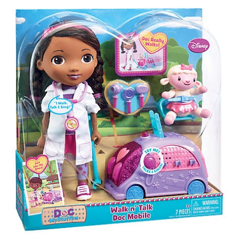 Doc Mcstuffins Walk n Talk Doc Mobile #doctober