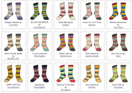 Sock Contest Image