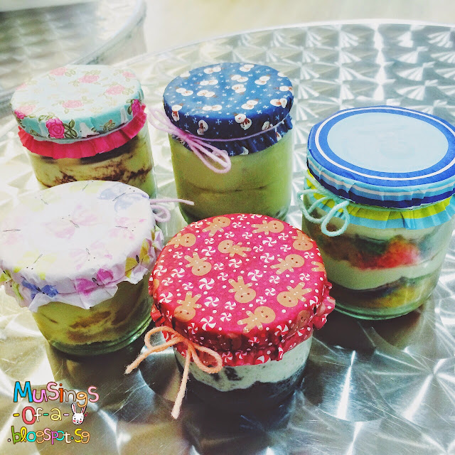 Cakes in a JAR!!!