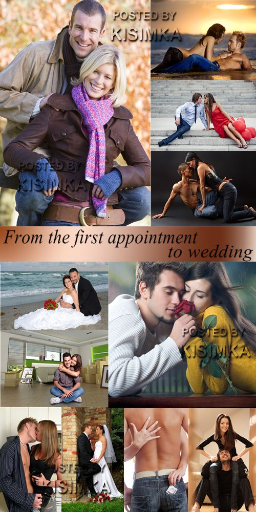 Stock Photo: From the first appointment to wedding