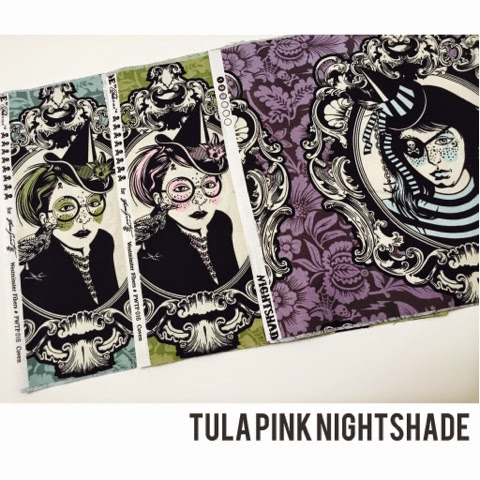 Tula Pink Nightshade Coven Fabric for sale by etsy Nizhoni Workshop