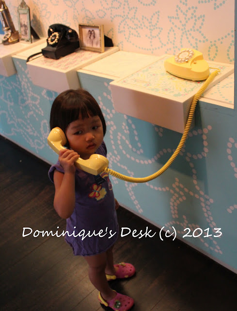 Tiger girl talking on the phone