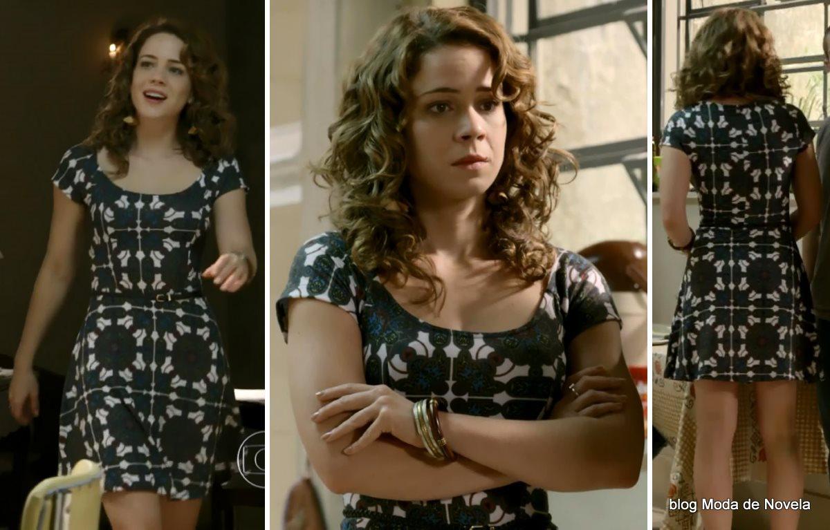 moda da novela Império, look da Cristina dia 16 de outubro