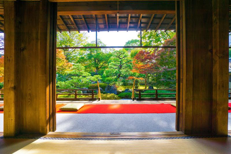 京都 紅葉 正伝永源院 写真3
