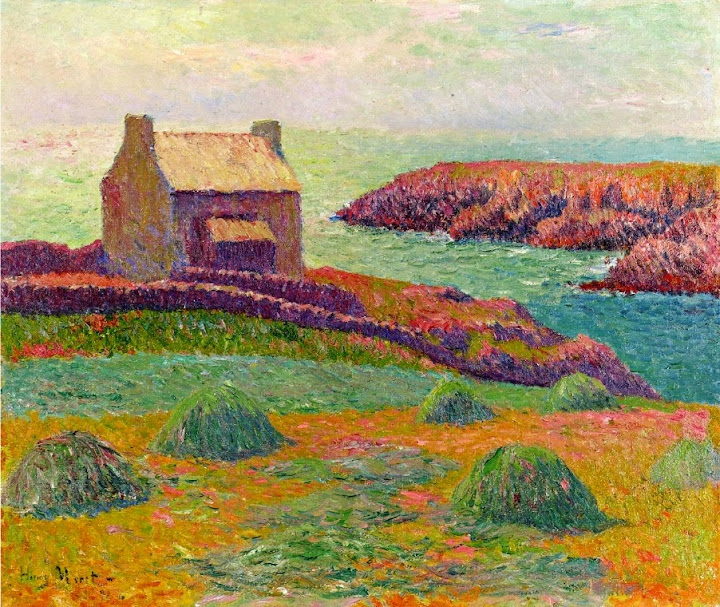 Henry Moret - House on a Hill, 1898