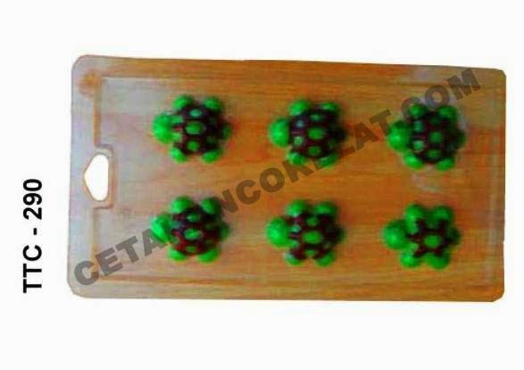Cetakan Coklat TTC290 Hewan Kura-kura binatang kuya reptil