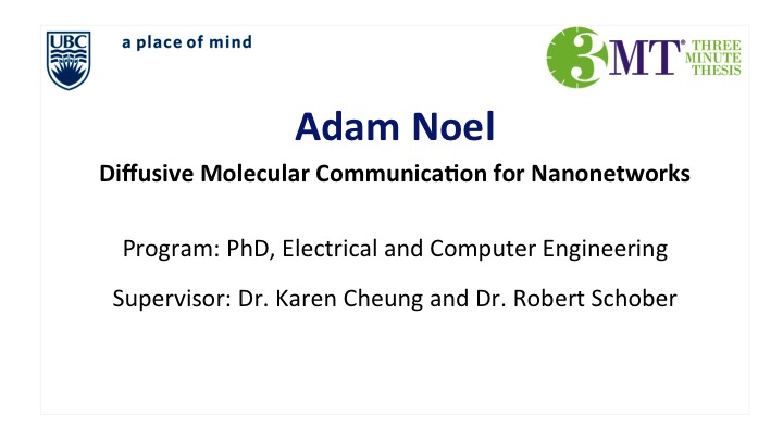 Diffusive Molecular Communication for Nanonetworks