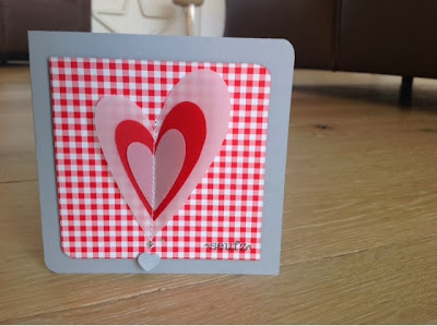 Stampin up Valentinskarte