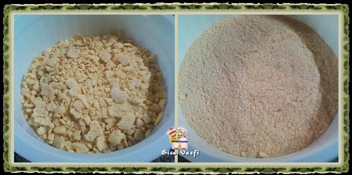 Farinha de milho em flocos