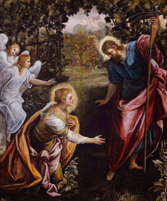 Tintoretto - Noli me tangere
