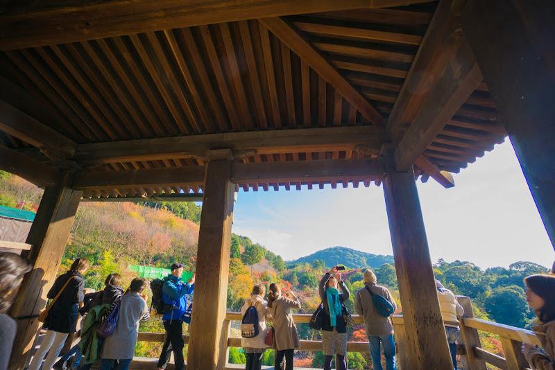 京都 紅葉 清水寺 写真3