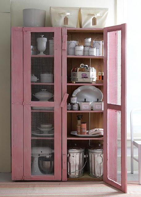Armário-de-cozinha-rosa