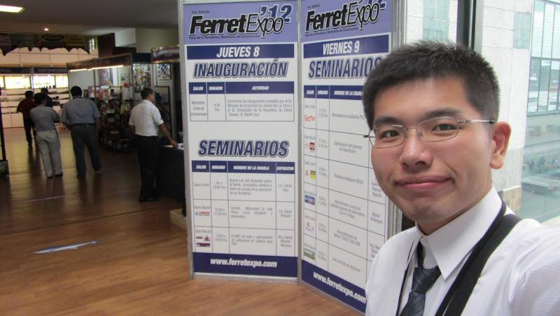 我在瓜地馬拉五金展FerretExpo 2012!!