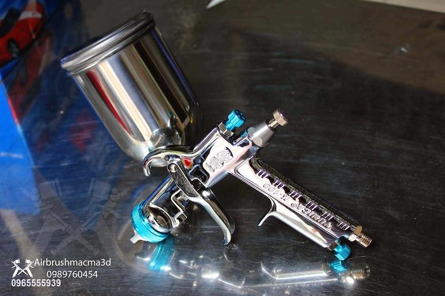 Súng airbrush , súng sơn giã đá , súng sơn xe , súng sơn cao cấp - 26