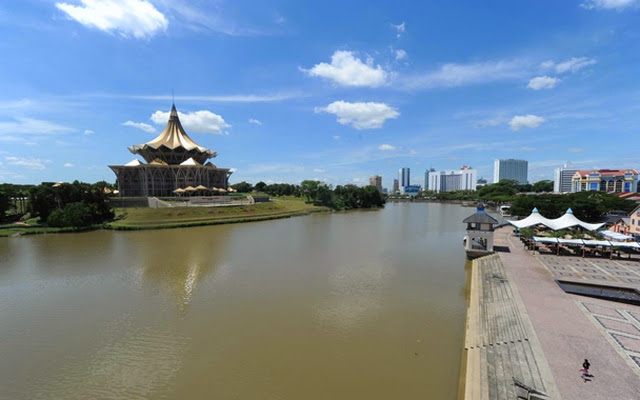 Kuching-Waterfront