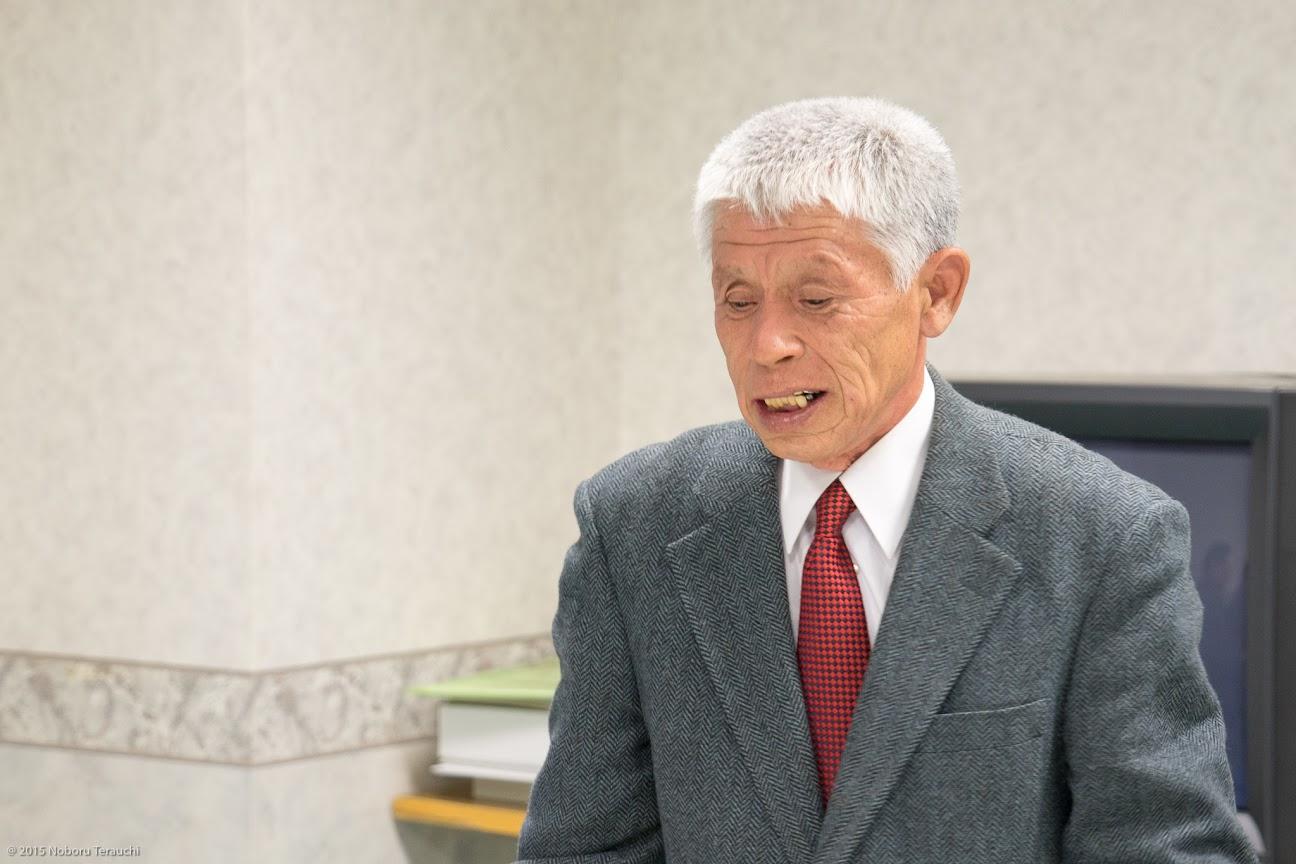 藤田洋一さんより開会挨拶
