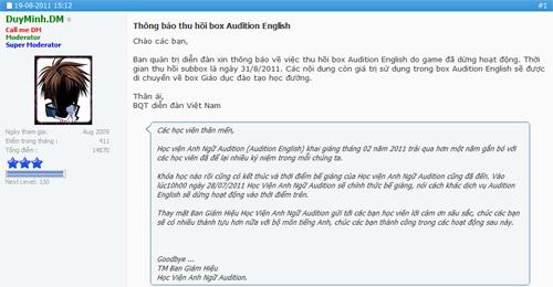 """Học viện Anh ngữ Audition English đã """"ra đảo"""" 2"""