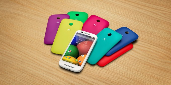 Motorola Moto E now available in the US with two free shells