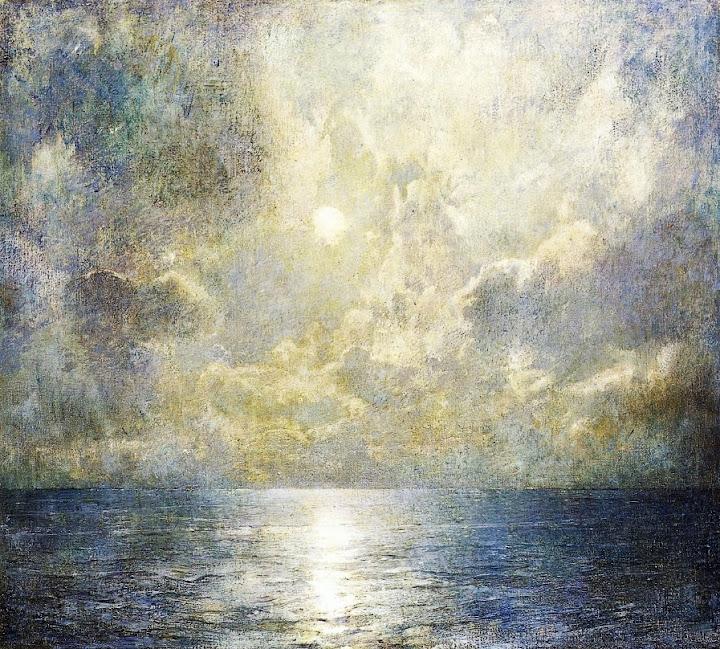 Emil Carlsen - Moonlilt Seascape