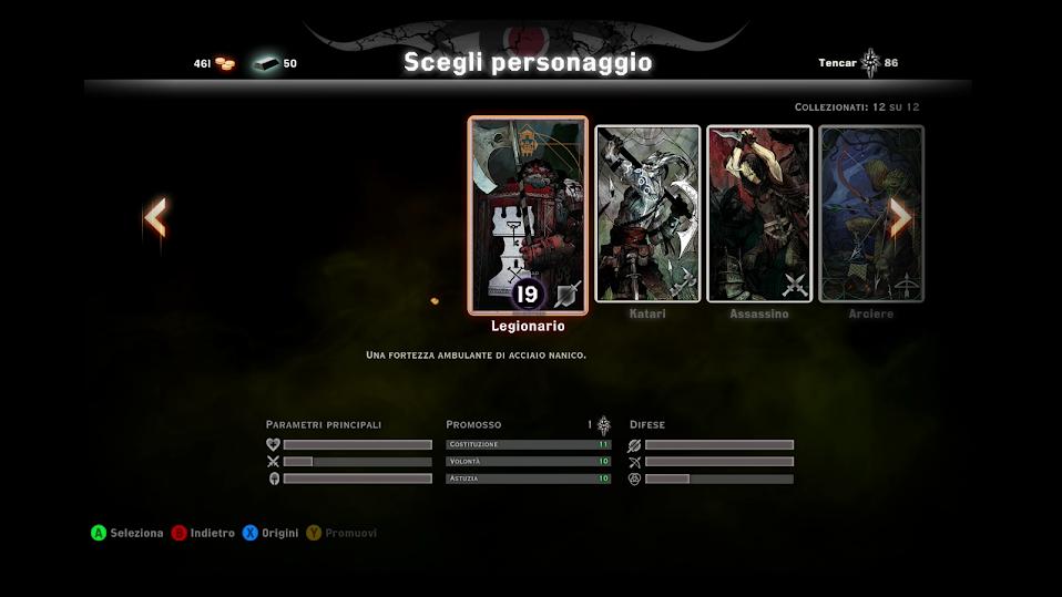 Il Legionario è il tank per eccellenza