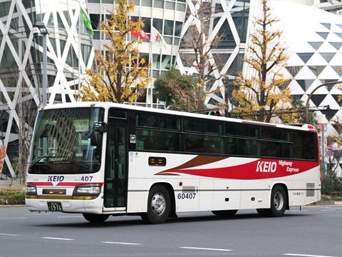 京王電鉄バス「中央高速バス飯田線」 60407 新宿にて