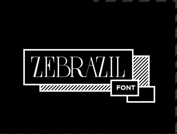 ZEBRAZIL Free Fonts