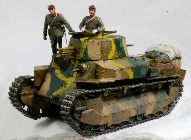八九式中戦車&九二式重装甲車(...