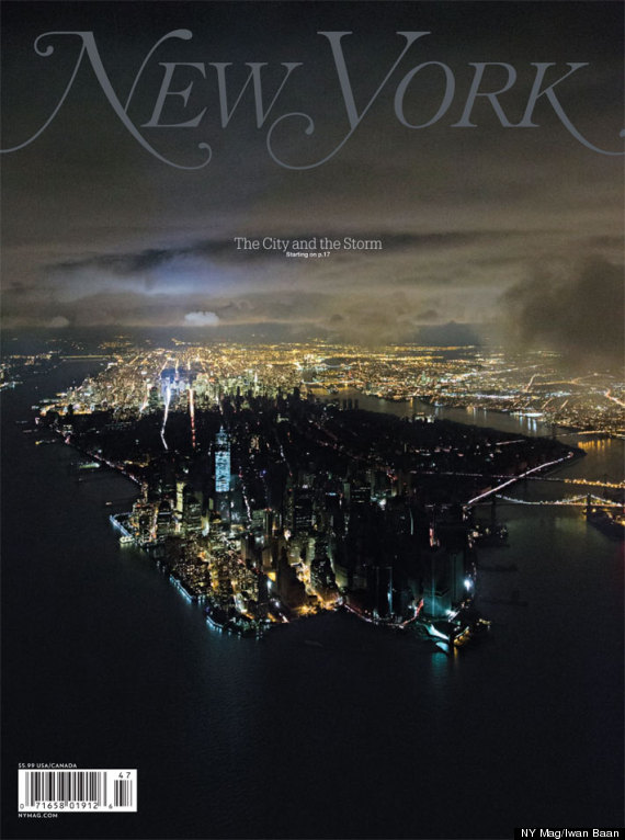 New York Magazine's Stunning Hurricane Sandy Cover