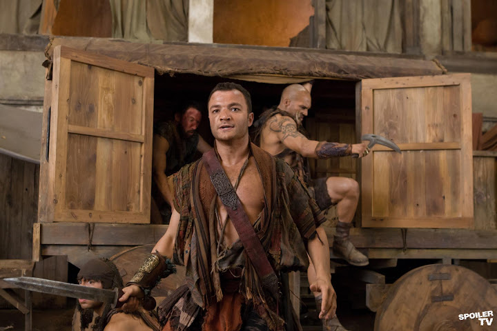 spartacus vengeance episode 208 2012 03 6x4 FULL SPARTACUS: Vengeance Episode 2.08 Ashur VIDEO Saxa Profile SPOILER @spartacus starz