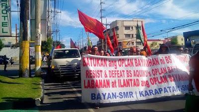 Manilakbayan contingent