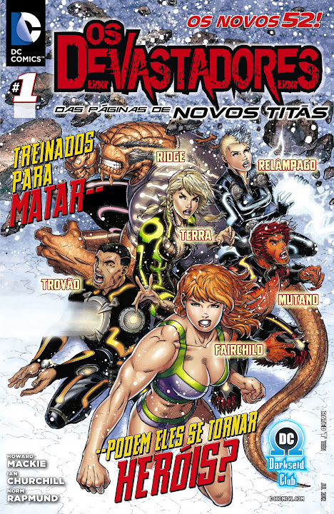 Os Devastadores (Os Novos 52)