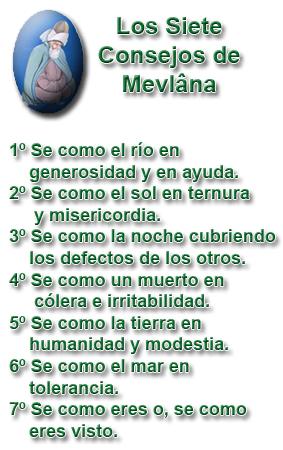 Los siete consejos de Mevlâna