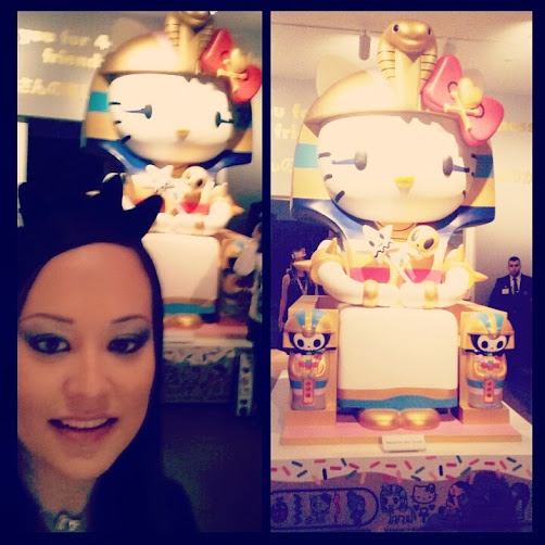 Kittypatra - tokidoki/Hello Kitty mashup statue