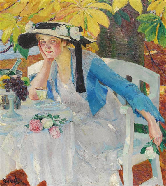 Edward Cucuel - Autumn Magic, 1912